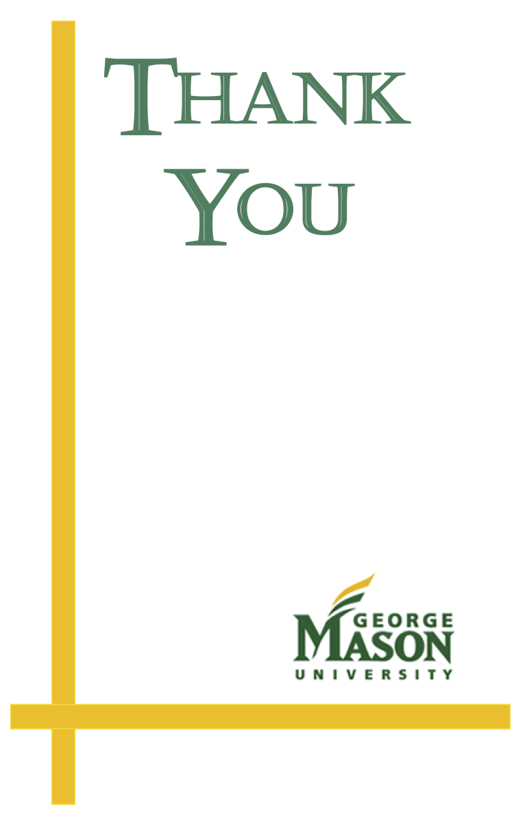 Recognition Vertical Thank You Card